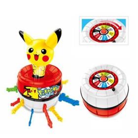 儿童玩具海盗桶粉红小猪皮卡丘佩奇插剑桌游