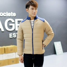 冬季新款棉衣男士韩版时尚立领棉服外套
