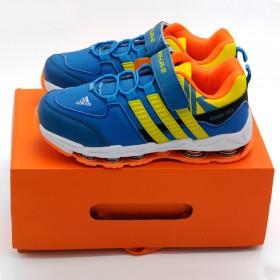 男童运动鞋透气减震儿童弹簧鞋