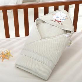 婴儿纯棉无甲醛无荧光剂抱被