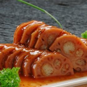1000克糯米藕2斤重扬州宝应特产甜糖藕香糯桂花蜜