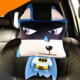 3D创意头枕颈枕可爱动漫卡通汽车护颈枕头