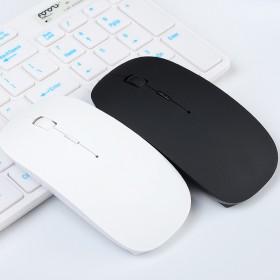 超薄无线鼠标USB办公游戏中性2.4G光电鼠标家用