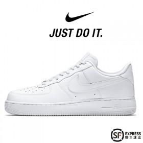 耐克NIKE真皮空军一号低帮板鞋高帮男鞋女鞋运动鞋