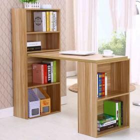 【限地区】台式家用书桌书柜组合办公桌简约家用电脑