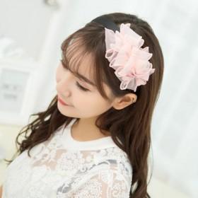 韩国布艺蝴蝶结发箍头箍