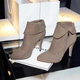 真皮新款韩版短靴