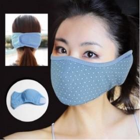 防尘防雾霾高档加厚全包口罩二合一