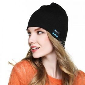 BIOSKIN蓝牙音乐帽子智能通话针织帽包头帽