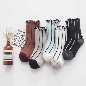 儿童冬季袜子加厚毛圈纯棉袜三双装