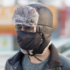2016冬季新款东北口罩雷锋帽男女百搭冬季户外nj