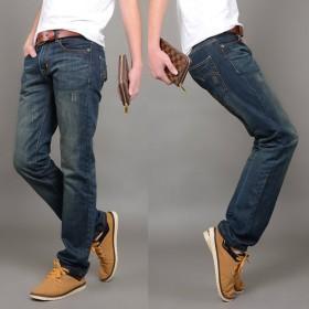 赠运费险韩版潮流四季新款青年男士牛仔裤正品