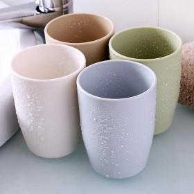 4支装(请拍2组)环保时尚情侣水杯刷牙杯子洗漱口杯