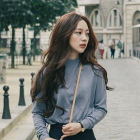 假发女长卷发半头套 韩国新款隐形大波浪蓬松U型中分