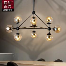 现代简约LED吸顶吊灯客厅卧室灯魔豆创意大气灯饰灯