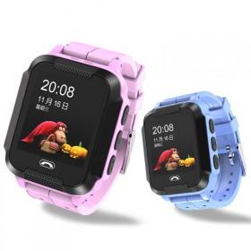 真正的血本冲量 触屏款儿童定位电话手表 智能手表