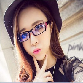 防辐射眼镜小框蓝光平镜眼睛男女平面平光镜无度数