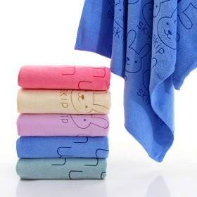 超细纤维卡通浴巾成人抹胸洗澡巾