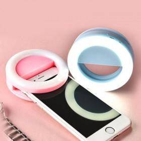 手机自拍照像补光灯 直播美颜美肤瘦脸神器自拍灯