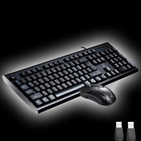 键盘鼠标套装USB接口有线鼠标键盘套装