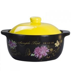 电磁炉砂锅炖锅陶瓷煲汤明火耐高温煲养生土锅沙锅汤锅