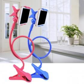 懒人手机支架 床头桌面通用直播手机架创意多功能
