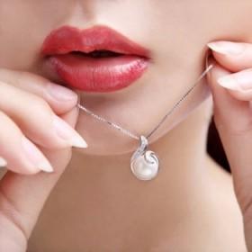 欧洛莲925银项链锁骨链