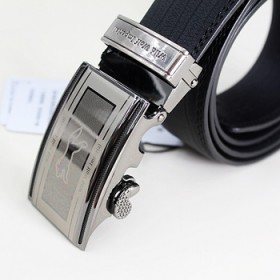 男式皮带针扣板扣自动扣腰带