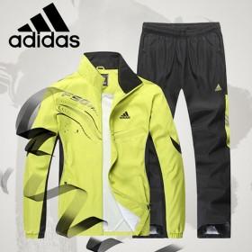 阿迪达斯正品运动套装 运动透气舒适