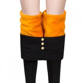 打底裤女加厚加绒韩版铅笔裤高腰显瘦修身保暖外穿长裤