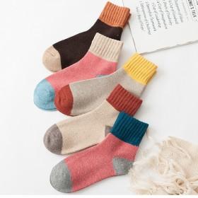 羊毛袜袜子女加厚加绒保暖短袜毛袜棉袜礼盒装