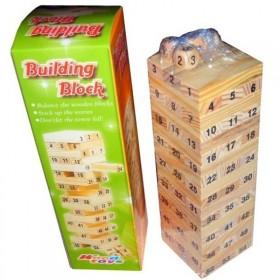 叠叠乐数字叠叠高层层叠抽积木益智力儿童玩具成人桌面