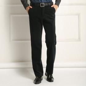 秋冬季灯芯绒男裤休闲裤条绒裤直筒宽松长裤