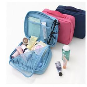 韩国化妆包护肤品旅行收纳包 大容量化妆品收纳袋盒防