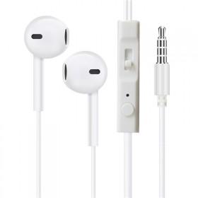 iphone安卓通用入耳式耳机电脑手机线控带麦