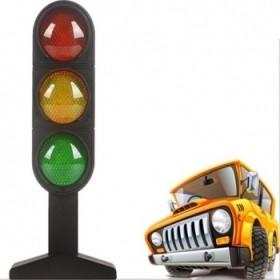 智能儿童 教学玩具 红绿灯真人语音互动教学内置电池
