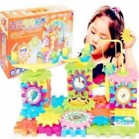 豪华优质89片装创意大比拼百变积木儿童玩具
