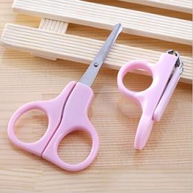 新生儿宝宝防夹肉指甲剪套装 儿童安全指甲钳