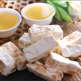 岛品百年台湾进口牛轧糖500g袋牛扎糖年货软糖果休