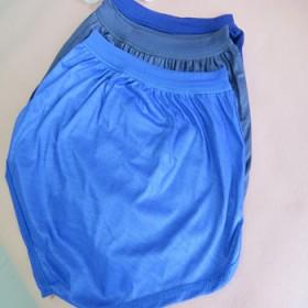 加肥男士三角裤纯棉全棉青中老年纯色透气宽松平角内裤