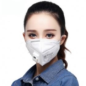 20件裝3M口罩带呼吸阀防雾霾口罩粉尘上班族必备