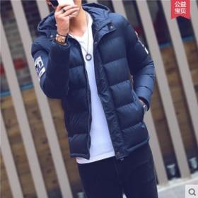 男装新款加厚棉袄外套韩版棉服潮流短款棉衣潮