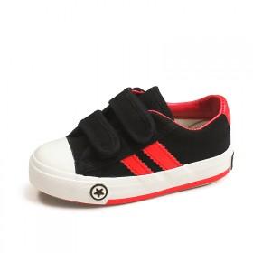 儿童帆布鞋男童透气板鞋