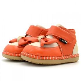 彩色球球专柜 冬季加绒加厚婴儿步前鞋宝宝学步鞋棉鞋
