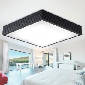 方形LED吸顶灯客厅灯具大气现代简约铝材亚克力卧室