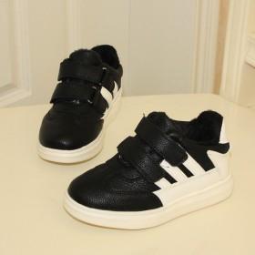 儿童透气运动鞋女童条纹板鞋