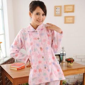 秋冬月子服长袖孕妇睡衣哺乳衣