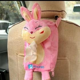 十二生肖纸巾盒可悬挂家用家居可爱创意汽车用品兔