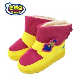 巴布豆童鞋儿童运动鞋男宝宝学步鞋女童鞋24到35码