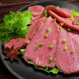 当当牛老字号麻辣酱牛肉卤牛肉熟食150g真空包邮